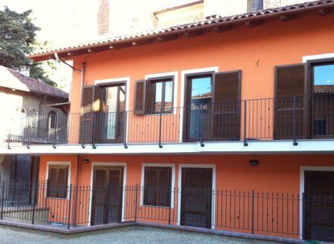 Vebo2 Edificio Residenziale Arancione Centro storico Pianezza (To)