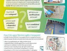 Vebo2 volantino per adeguamento e sanificazione COVID-19