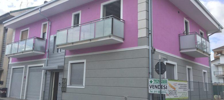 Vebo2 Edificio Residenziale Rosa Ristrutturazione Rivoli (To)